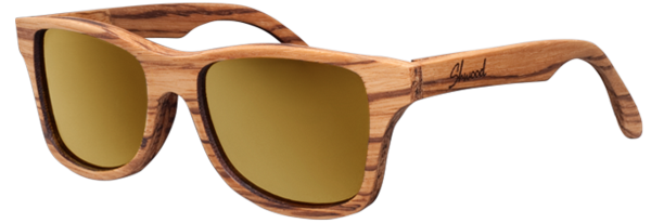 Retro, Vintage, sweet, hipster.  Throw any buzzword you want at these wood frame glasses and they are up to the challenge.