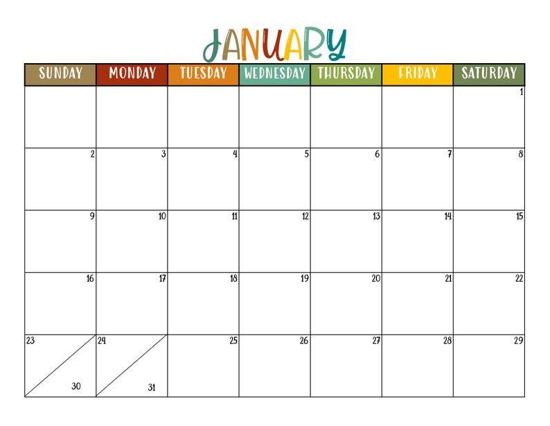 2022 Calendar - Free Download Printable Calendar Templates