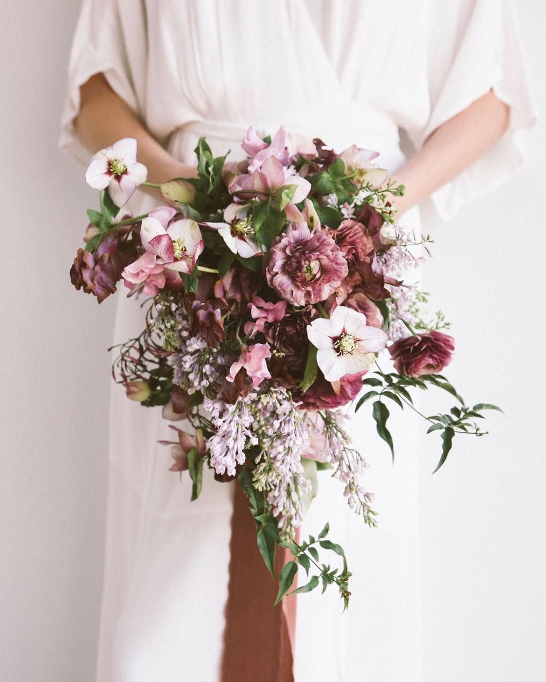 Image may contain flower and plant Bridal bouquet