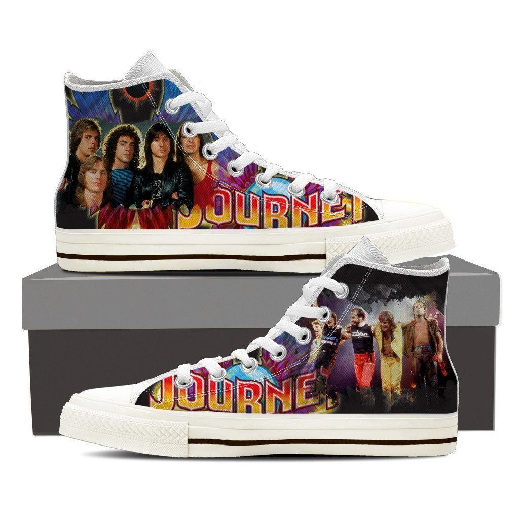 910436e478e4 journey band ladies high top sneakers in 2019