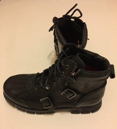 Polo Ralph Lauren Mens Demond Winter Rain Muck Hiking Trail Boots ...