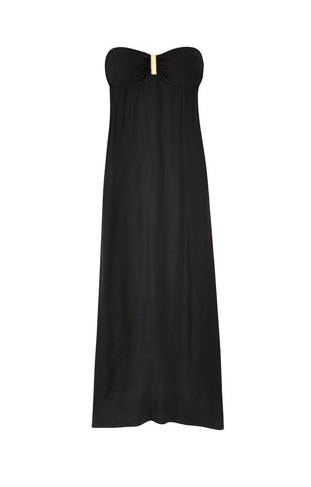 Bimini Rectangle Bandeau Maxi Dress