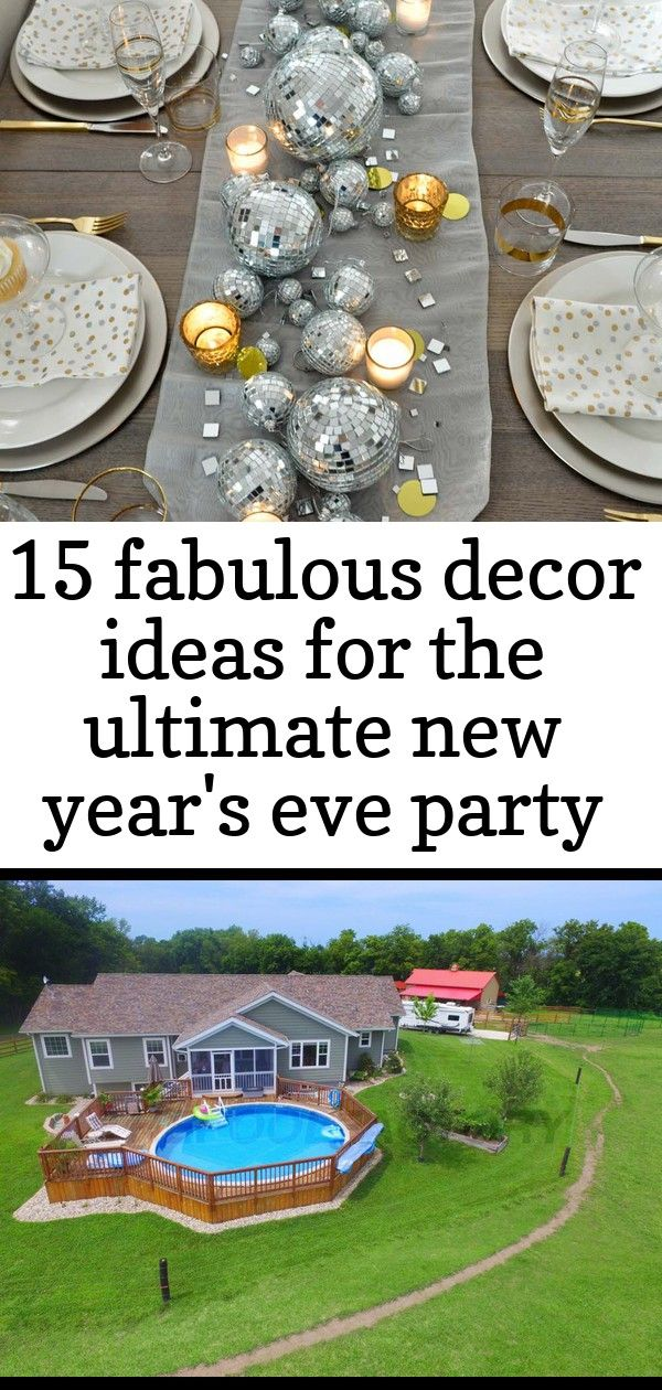 15 fabulous decor ideas for the ultimate new year's eve ...