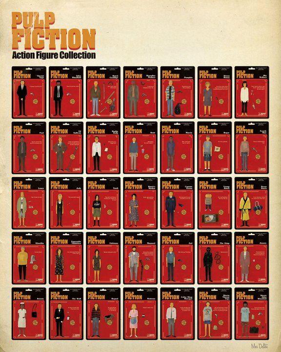 PULP FICTION Action Figure Collection