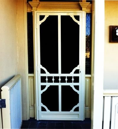 Pin By Sandy Cowdery On Security Screen Doors Security Screen Door Wooden Screen Door Screen Door