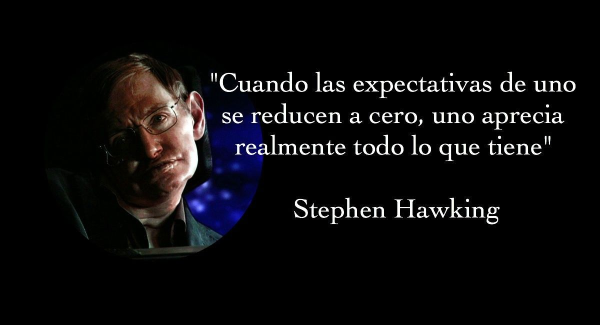 6 Frases De Stephen Hawking Stephen Hawking Frases Y