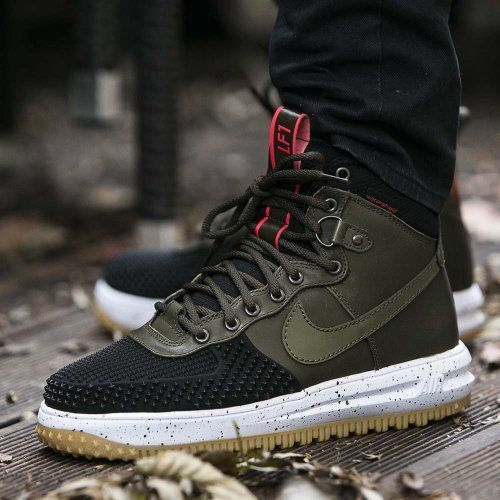 buty nike lunar force 1 duck boot dark loden color