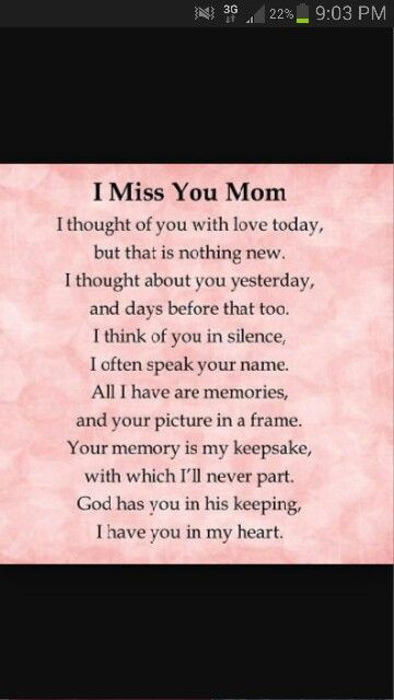 I Miss You Mom My Stuff Miss You Mom Miss Mom Miss My Mom
