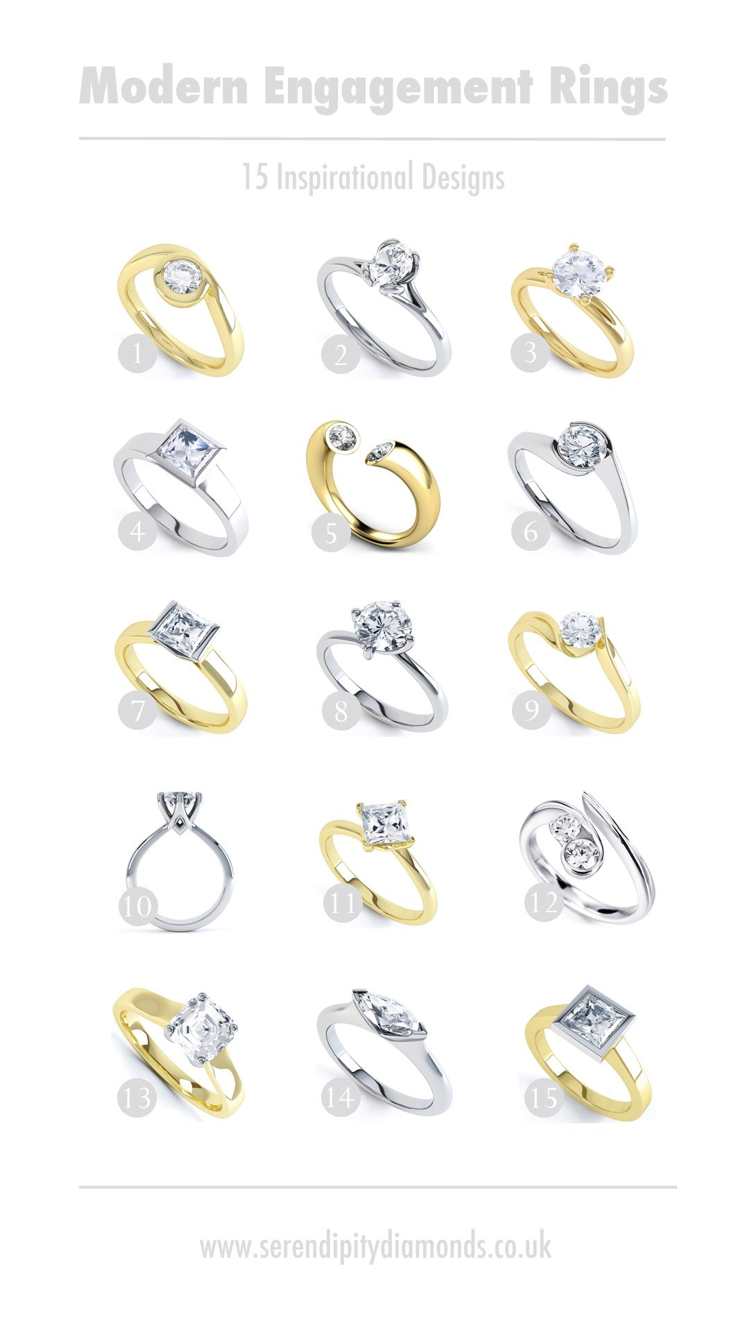 Engagement ring guide settings  styles future   pinterest and also rh