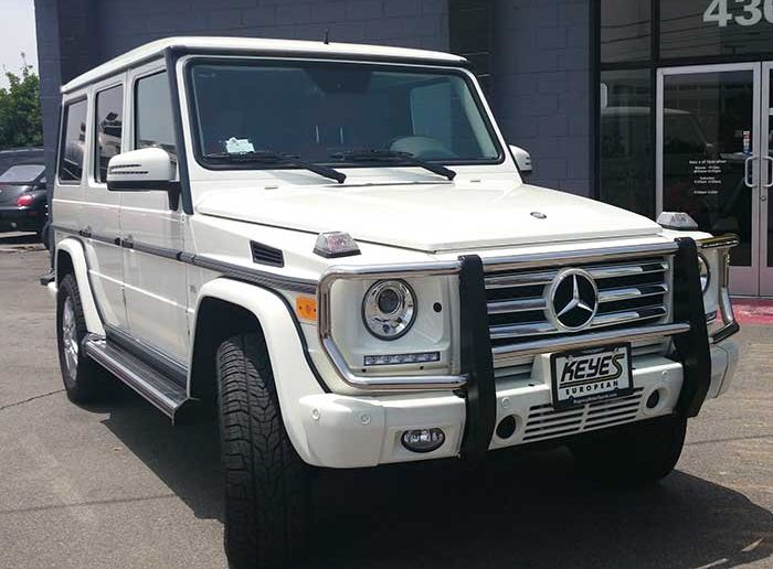 White Mercedes G550 Mercedes Benz Luxury Car Rental Mercedes