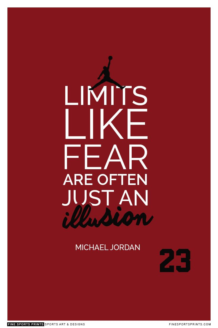 Michael Jordan Quote On Print See More At Www Finesportsprints