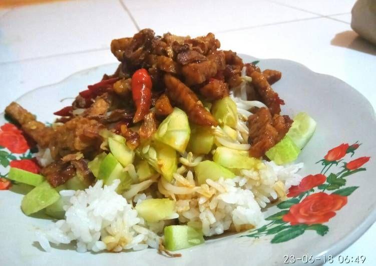 Resep Nasi Lengko Ekonomis Oleh Neng Tya Resep Masakan Resep Masakan Resep