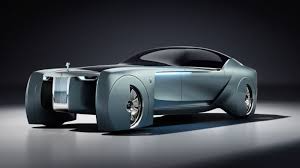 Photo of Rolls-Royce ditches the chauffeur in this futuristic concept car