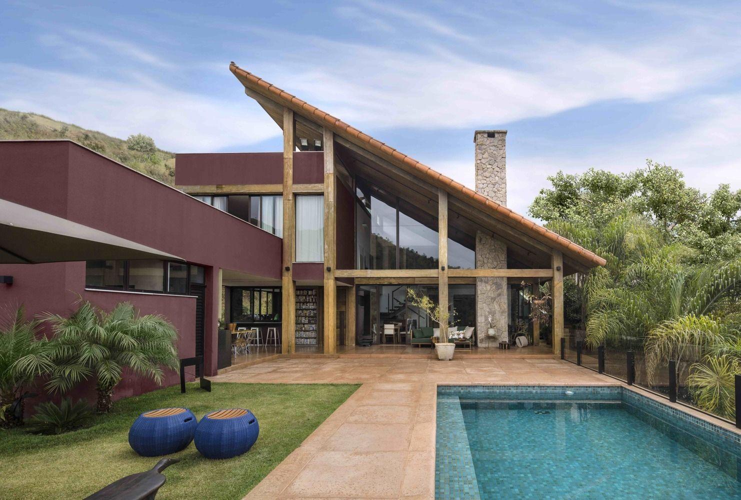 Galería de Casas brasileñas 16 ejemplos con cubierta