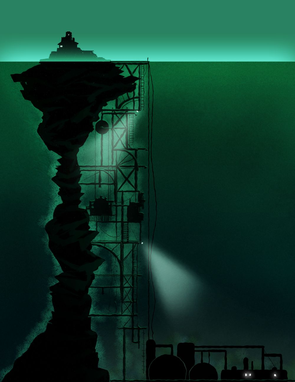 paul arendt : Photo Sunless Sea #sunlesssea #failbettergames | Geeky