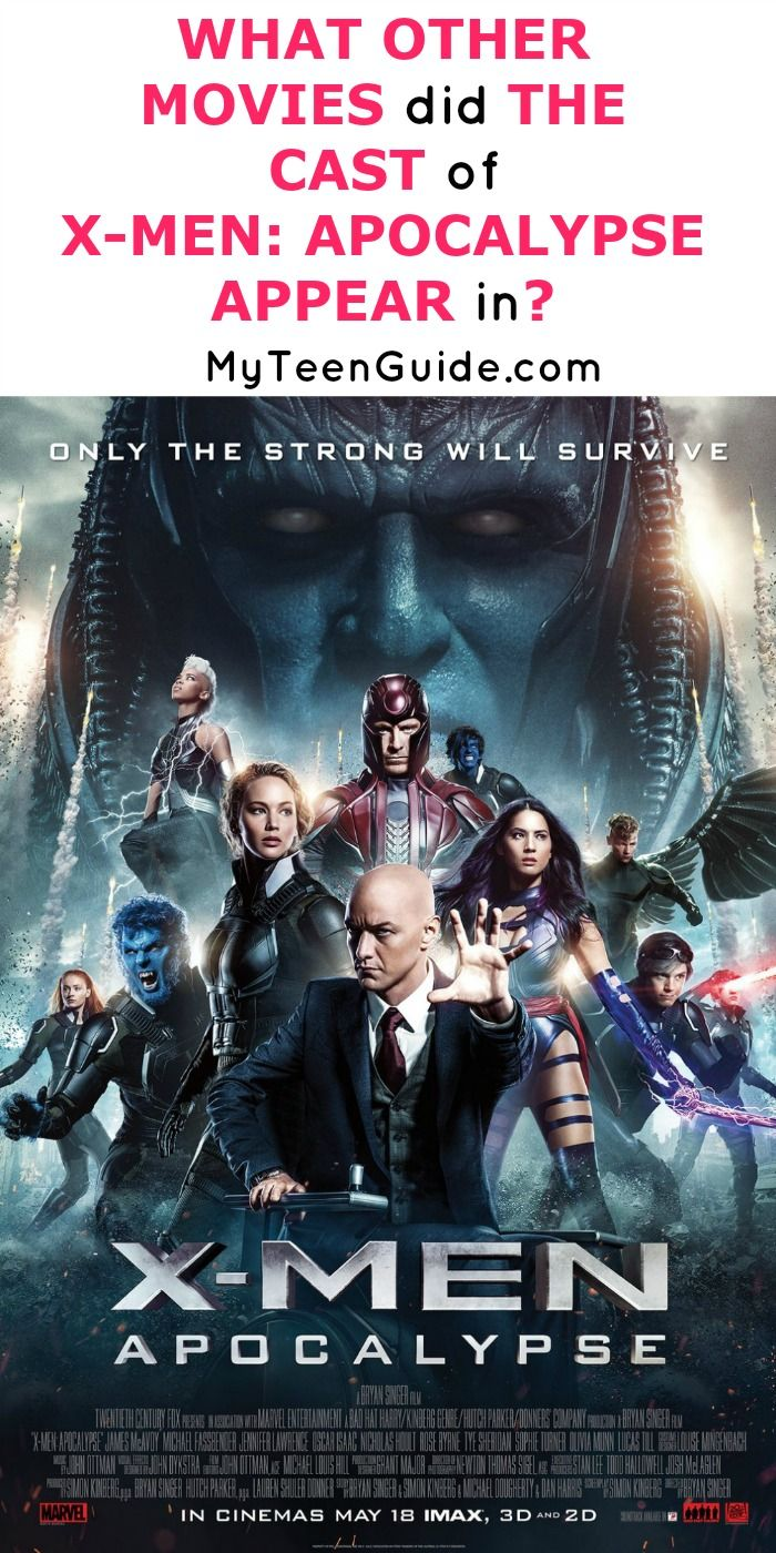 What Other Movies Did The Cast Of X Men Apocalypse Appear In Apocalypse Movies Man Movies Xmen Apocalypse