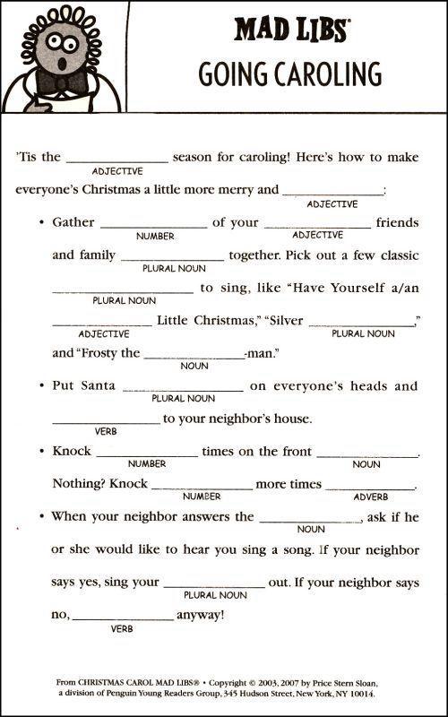 Adult en holiday language
