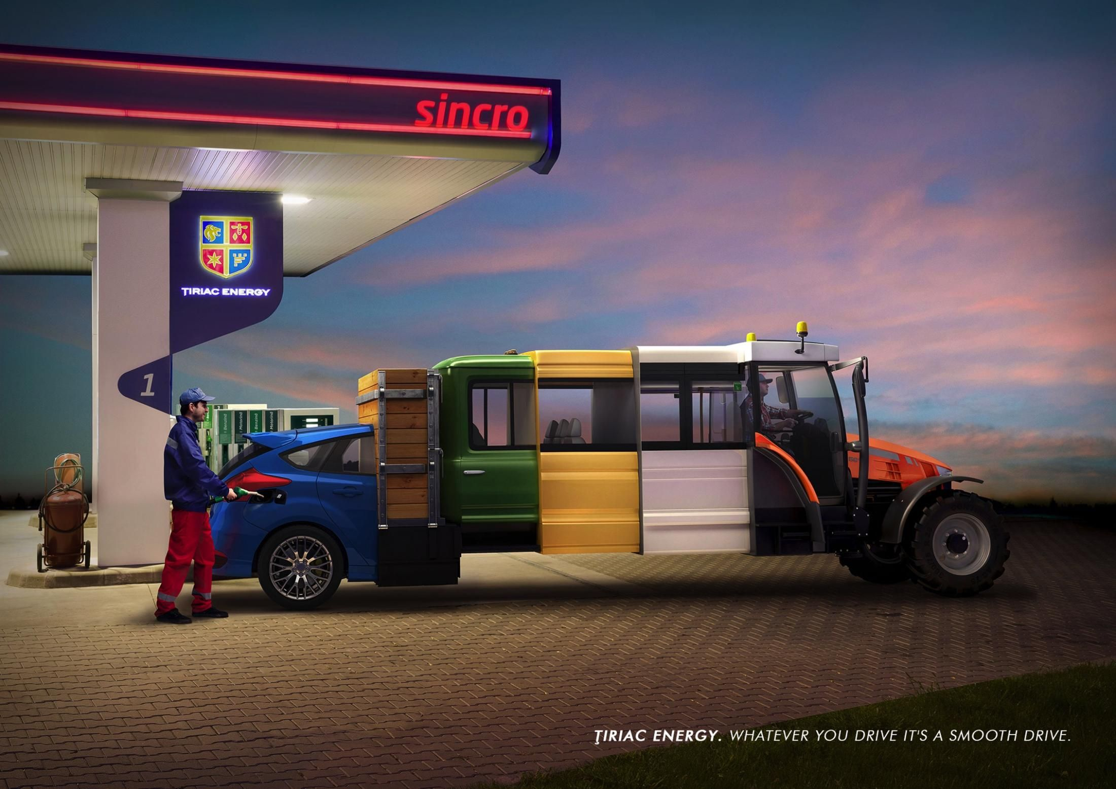 Advertisement by Rusu+Bortun, Romania Cars trucks