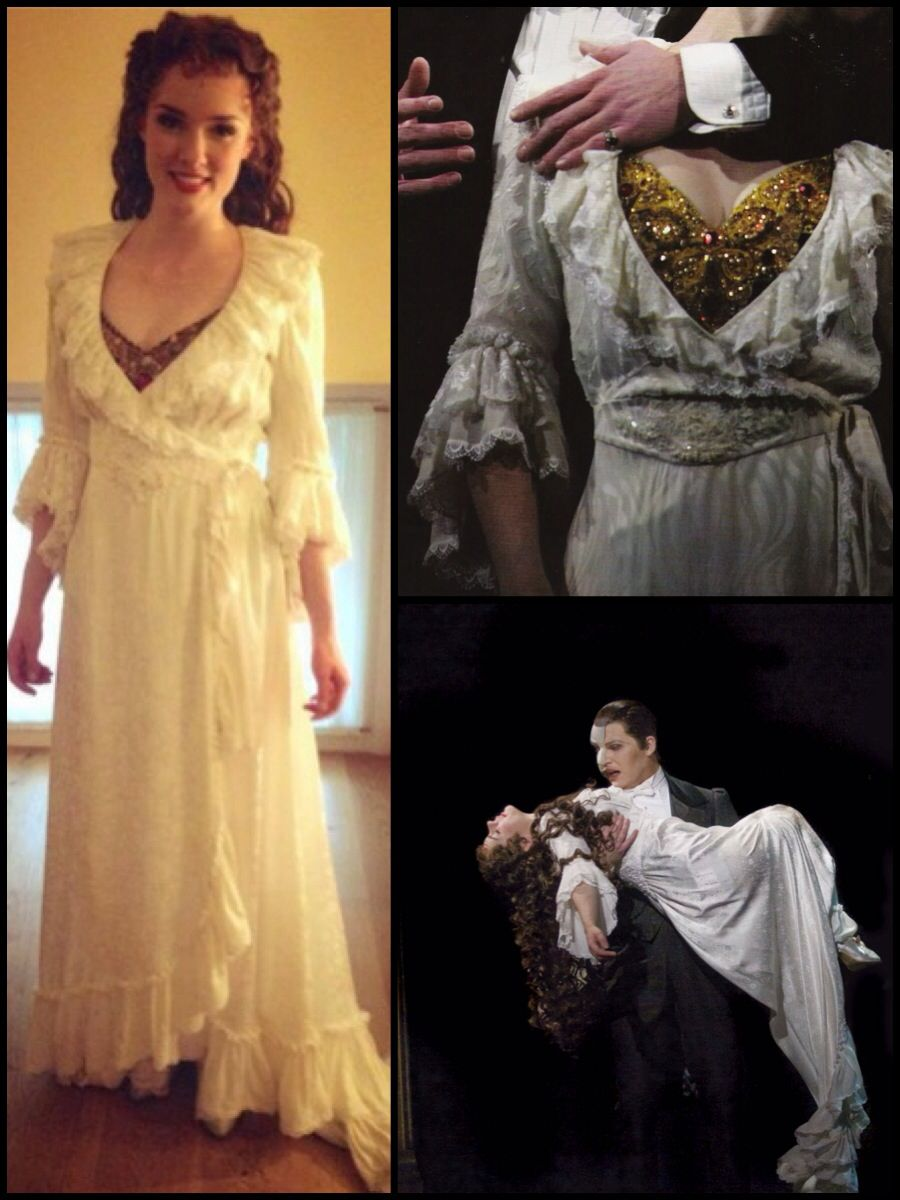 Christine Daae's Dress Gown Theater costumes diy