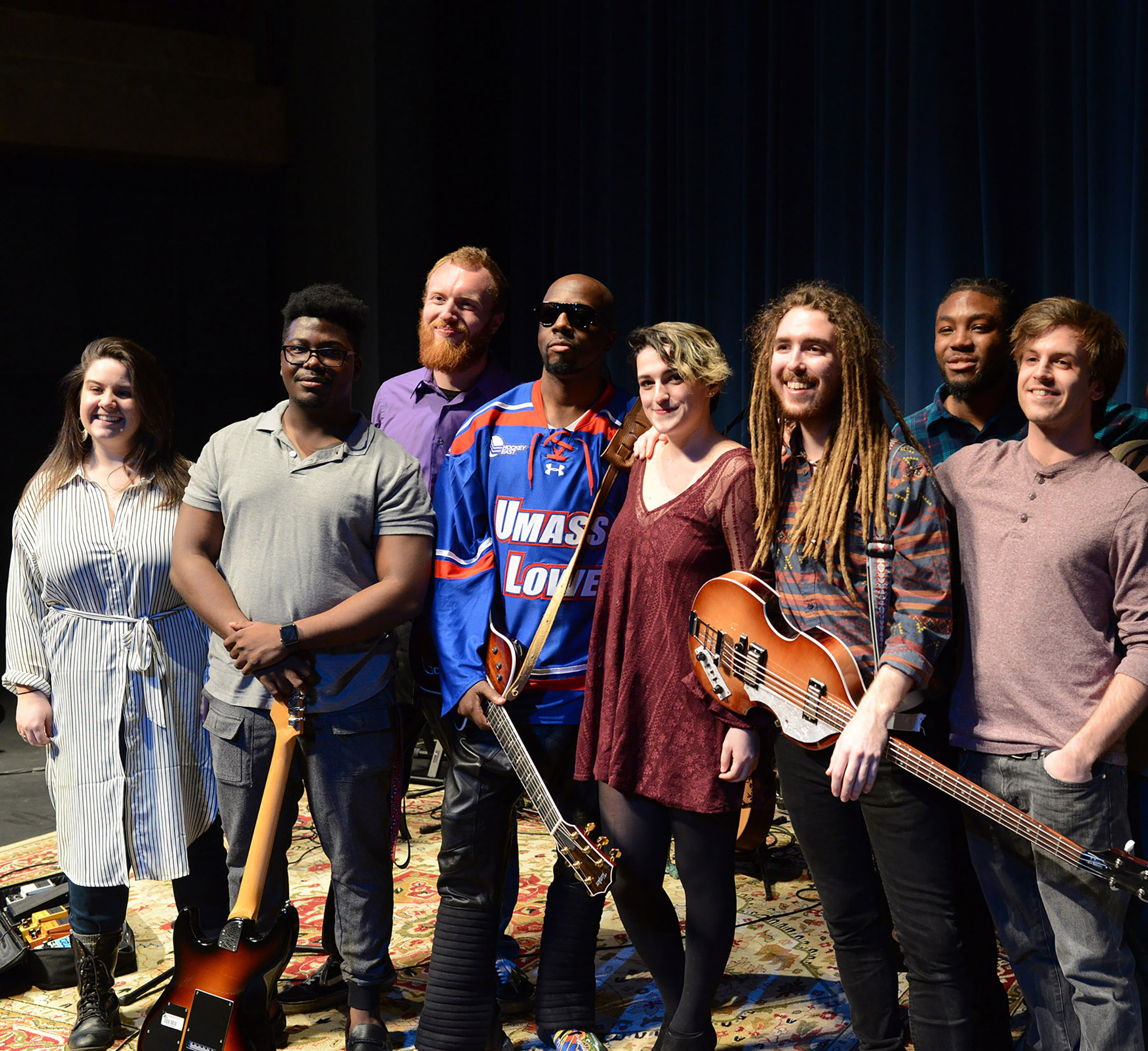 Former Fugees Frontman Wyclef Jean At Umass Lowell The Boston Globe Wyclef Jean Wyclef Fugees