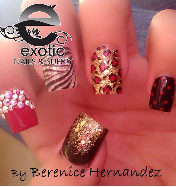Pin by Amanda Janovich on Nails.   Pinterest   Exotic nails, Nail ...