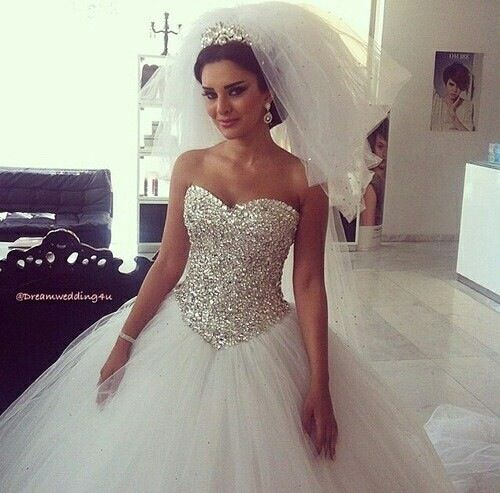 Glitzer Kleid | My wedding | Pinterest | Wedding dress, Formal ...