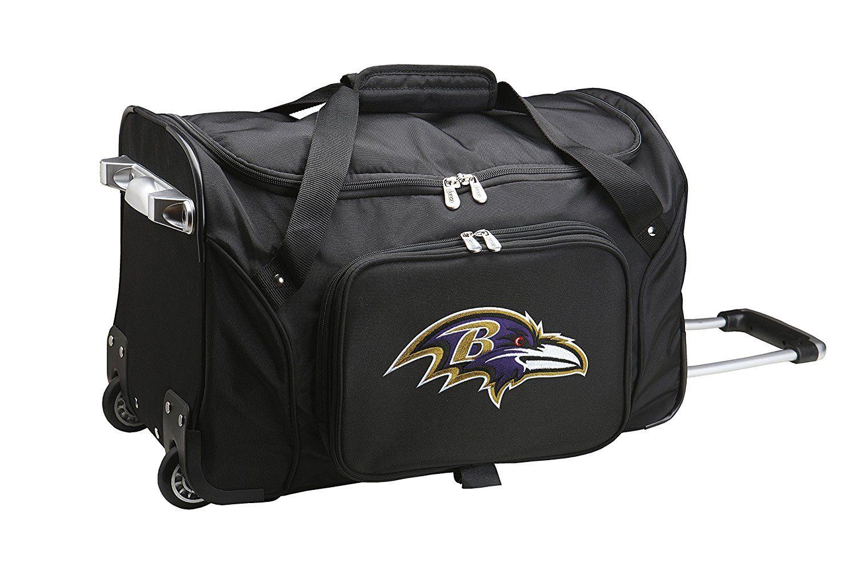 Nfl Baltimore Ravens Wheeled Duffle Bag