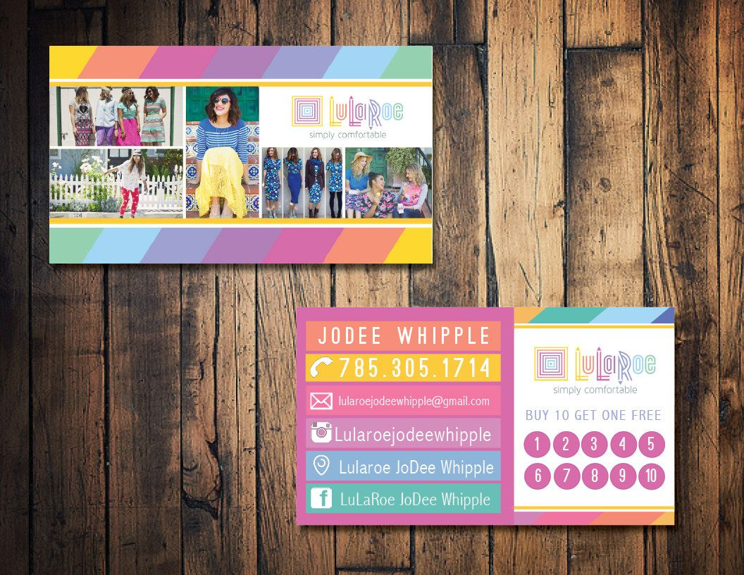 Lularoe business card lularoe punch card lularoe marketing card by shop for lularoe business cards on etsy the place to express your creativity through the buying and selling of handmade and vintage goods reheart Image collections