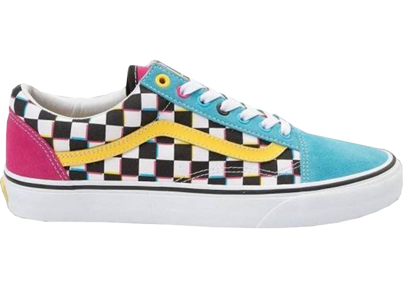 Vans Old Skool Crazy Checks Multi | Vans shoes, Sunflower