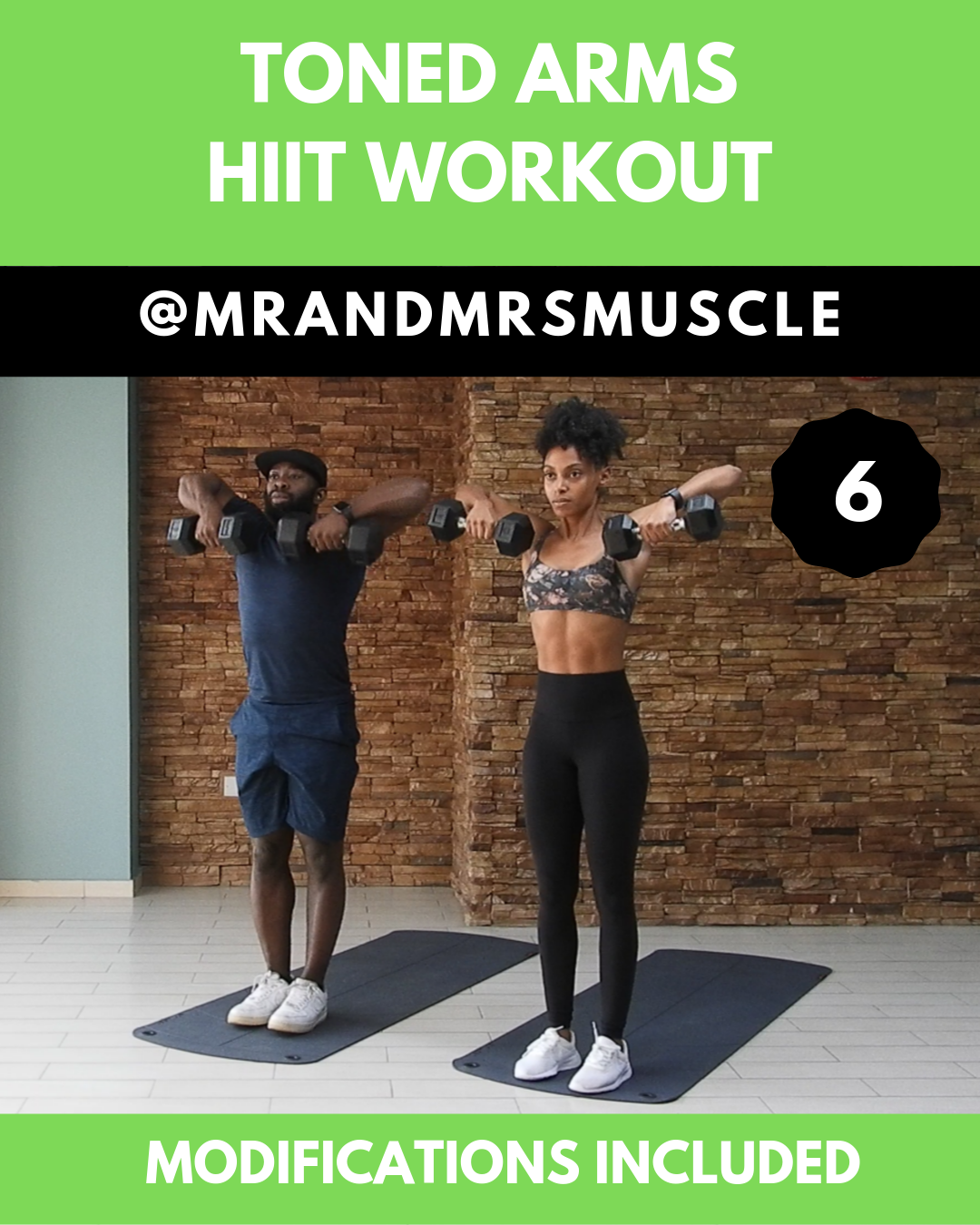 Upper Body Workout - HIIT #exercisesforupperback Get TONED ARMS with our Full Upper Body HIIT Workou...