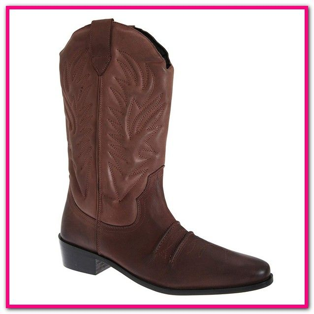 Cowboy Stiefeletten Herren Amazon Neue Herren Cowboy Leder