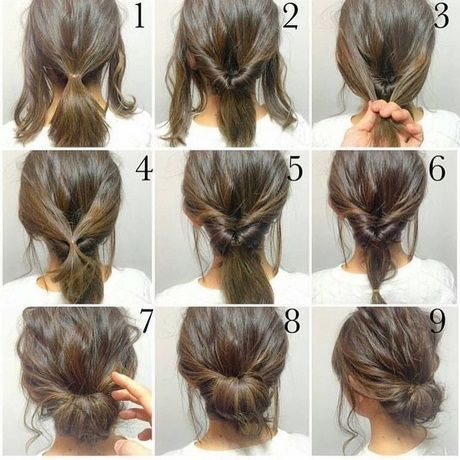 Quick And Easy Updos For Long Thick Hair In 2020 Hair Styles Short Hair Styles Long Hair Styles