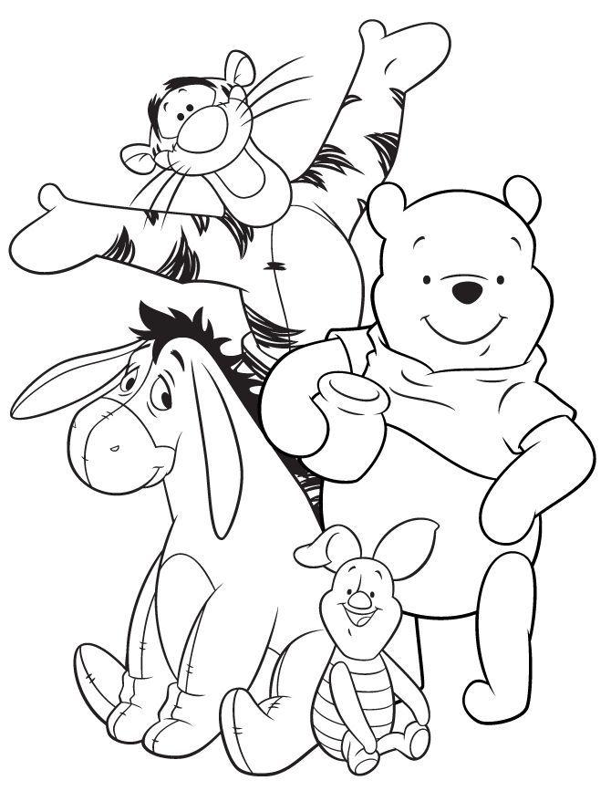 Chris Hutcheson Tarafindan Winnie The Pooh Panosundaki Boyama