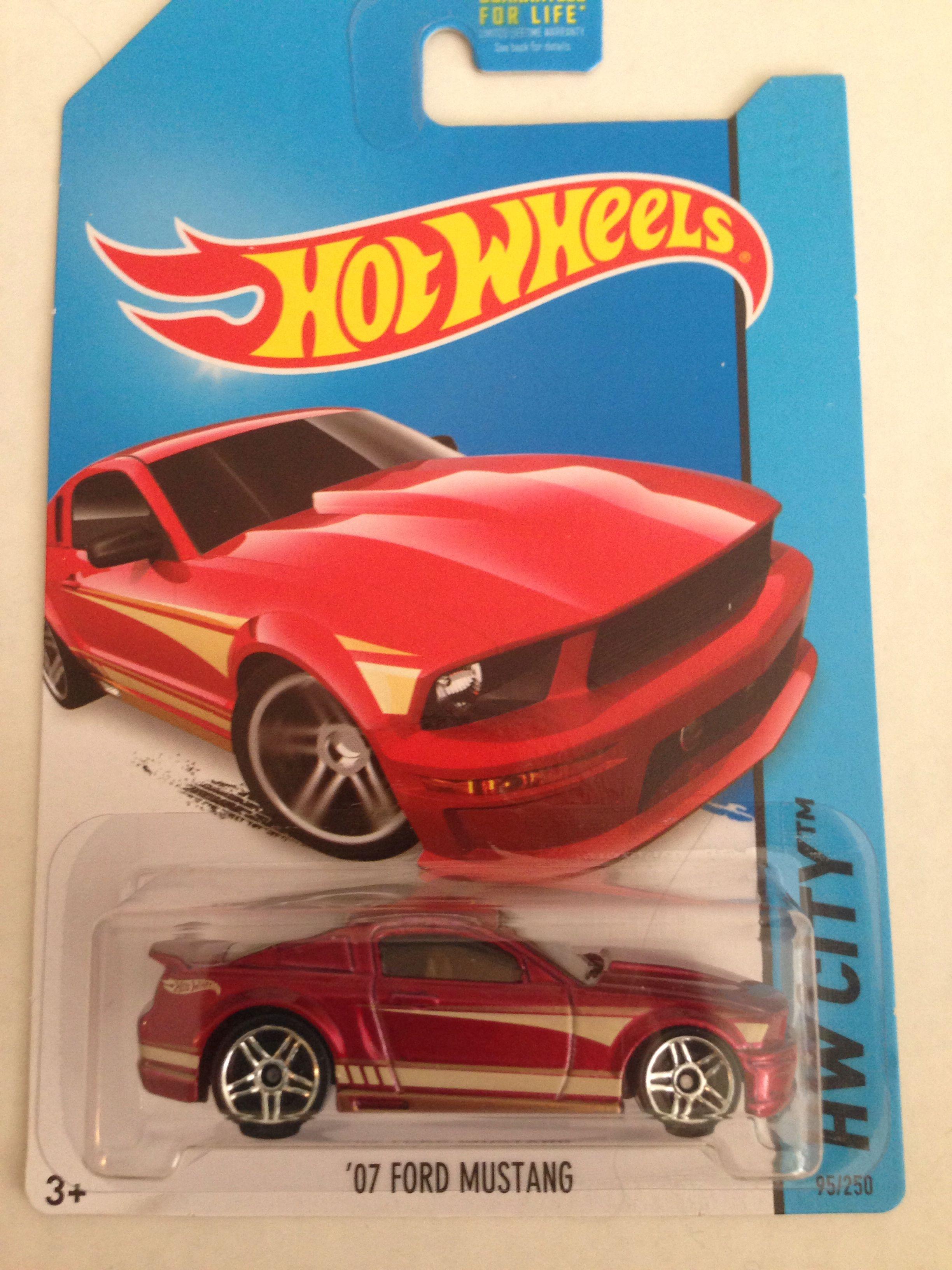 07 Ford Mustang Hot Wheels 2014 Hw City 95 250 Hot Wheels