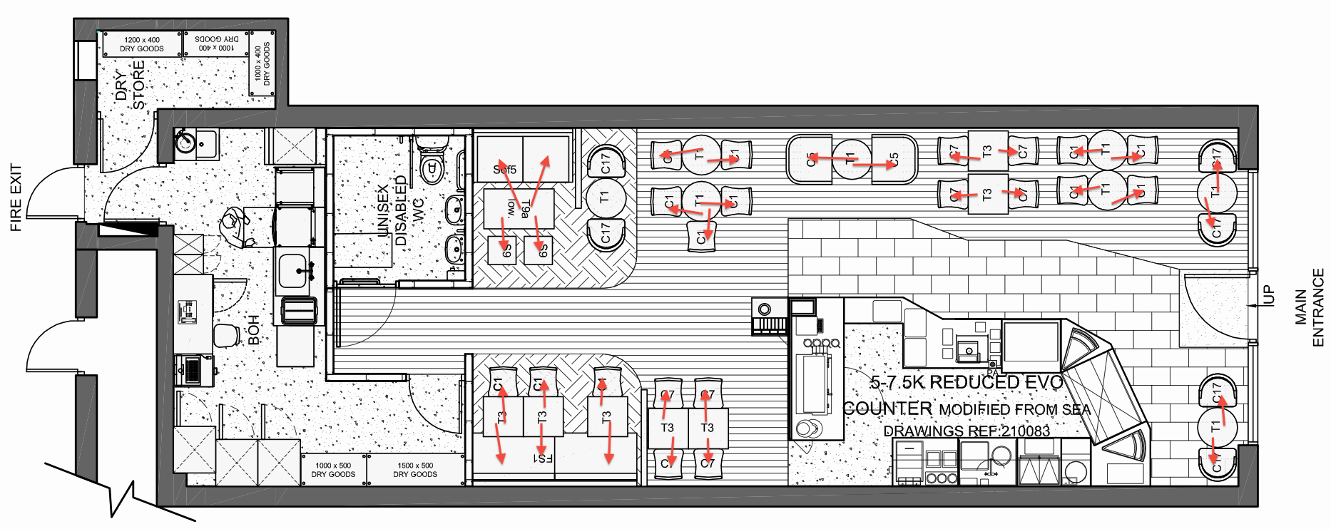 Znalezione obrazy dla zapytania caffe plans cafe pinterest cafes Free commercial bar design plans