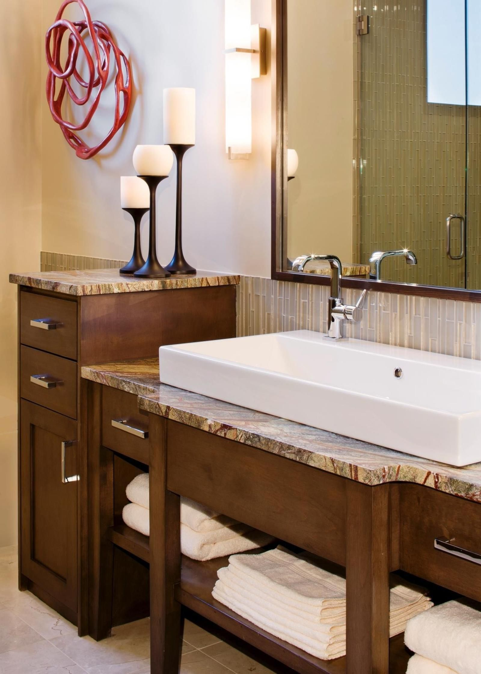 Inexpensive Bathroom Vanity With Farmhouse Sink 30