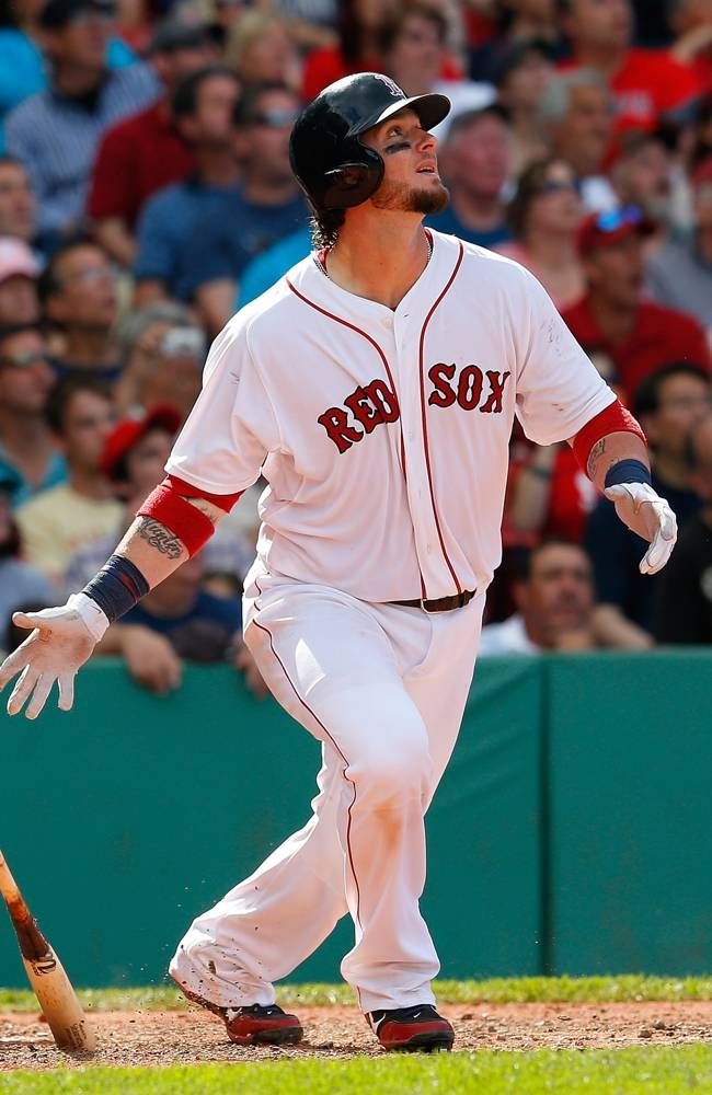 BOSTON, MA JUNE 9 Jarrod Saltalamacchia 39 of the