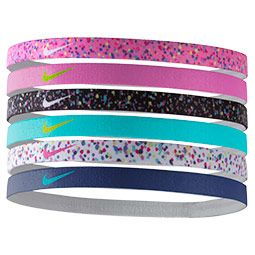 Nike Printed 6 Pack Headbands 2020 ヘア