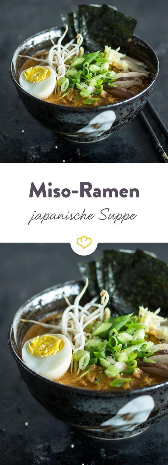 Photo of Miso ramen (Japanese noodle soup)