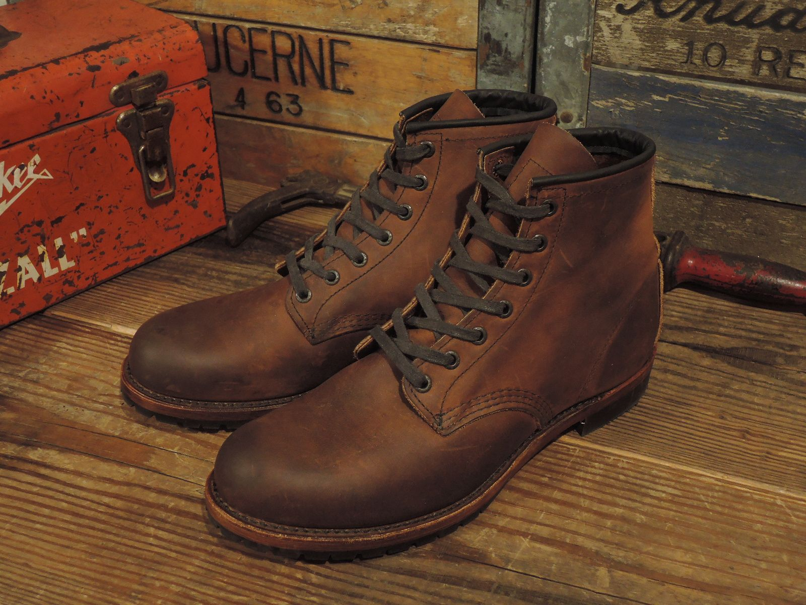 13990adf527 J CREW x RED WING : BECKMAN BOOTS   CONEY ISLAND   Men's Boots ...