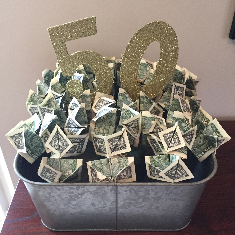 50th Anniversary/Birthday Money Tree/Bush/Shrub. Feel free ...