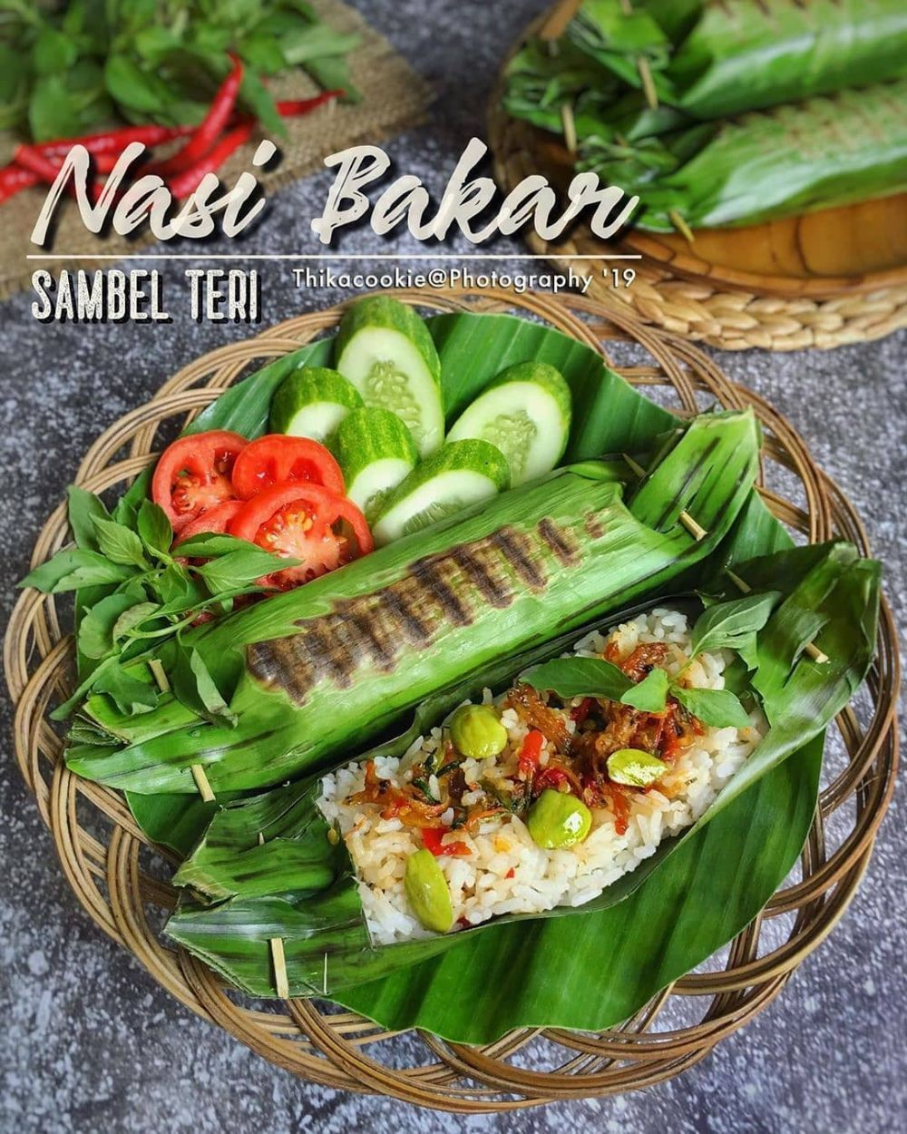 1 Nasi Bakar Sambel Teri Foto Instagram Thikacookie Bahan Nasi 4 Genggam Beras Santan 2 Lembar Daun Resep Masakan Resep Makanan Resep Masakan Pedas
