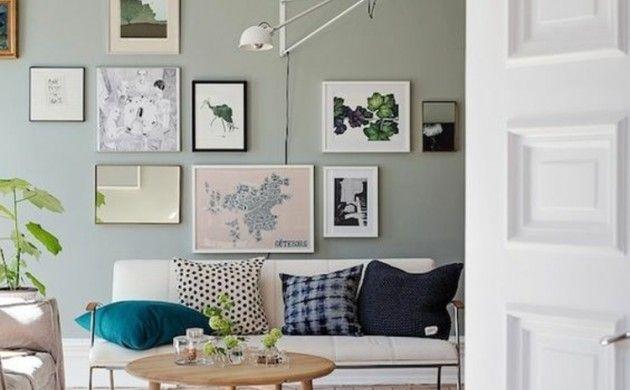 50 Fotowand Ideen, die ganz leicht nachzumachen sind Pinterest - wohnzimmer deko wand