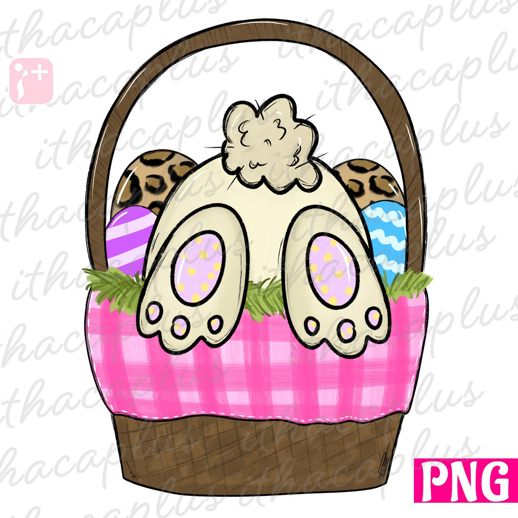 Easter Basket Png Easter Png Easter Bunny Sublimation Easter Basket Clipart Plaid Easter Basket Png Easter Drawings Easter Basket Clipart Easter Paintings