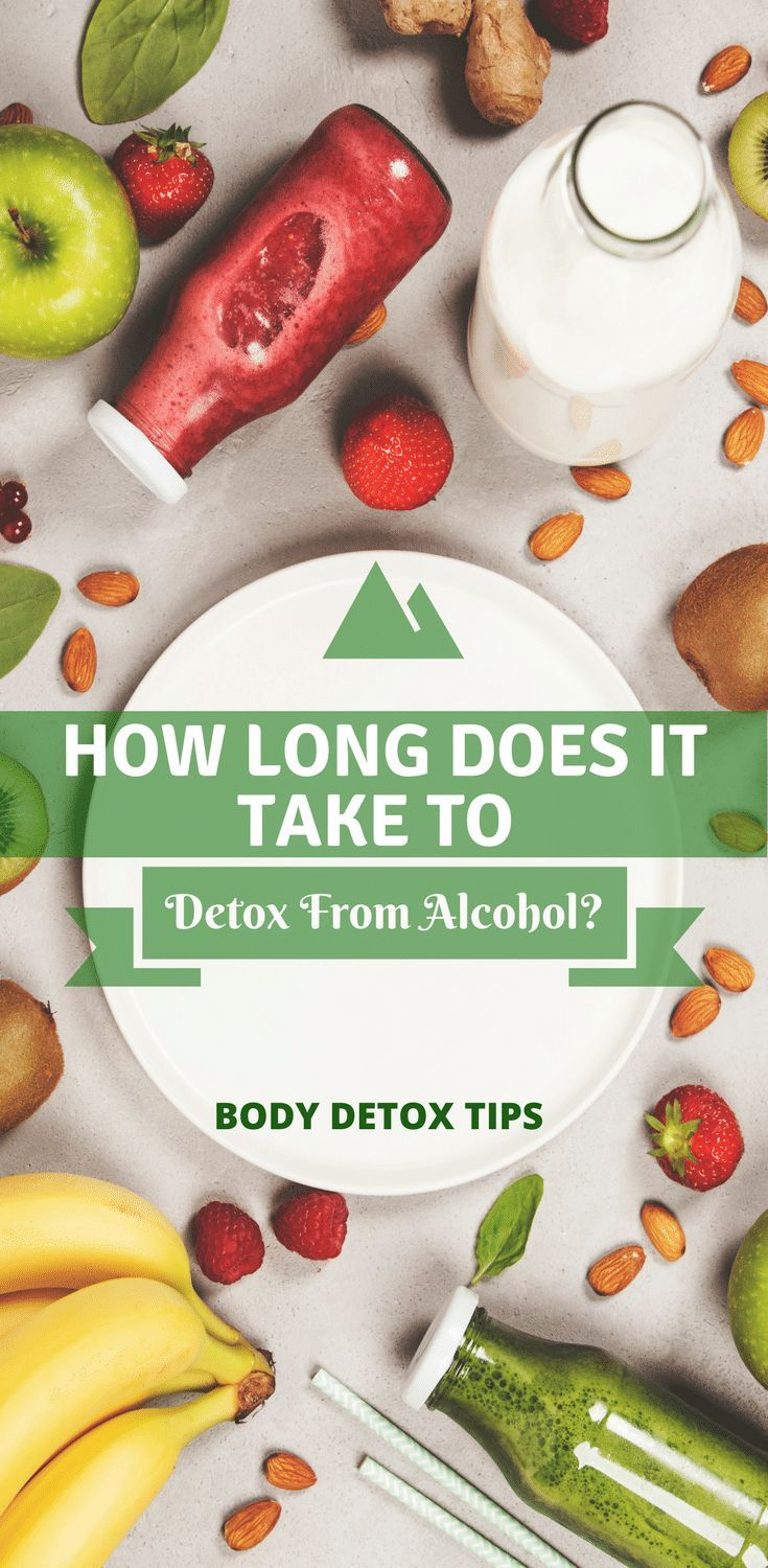 How Long Does It Take To Detox From Alcohol? Detox diet