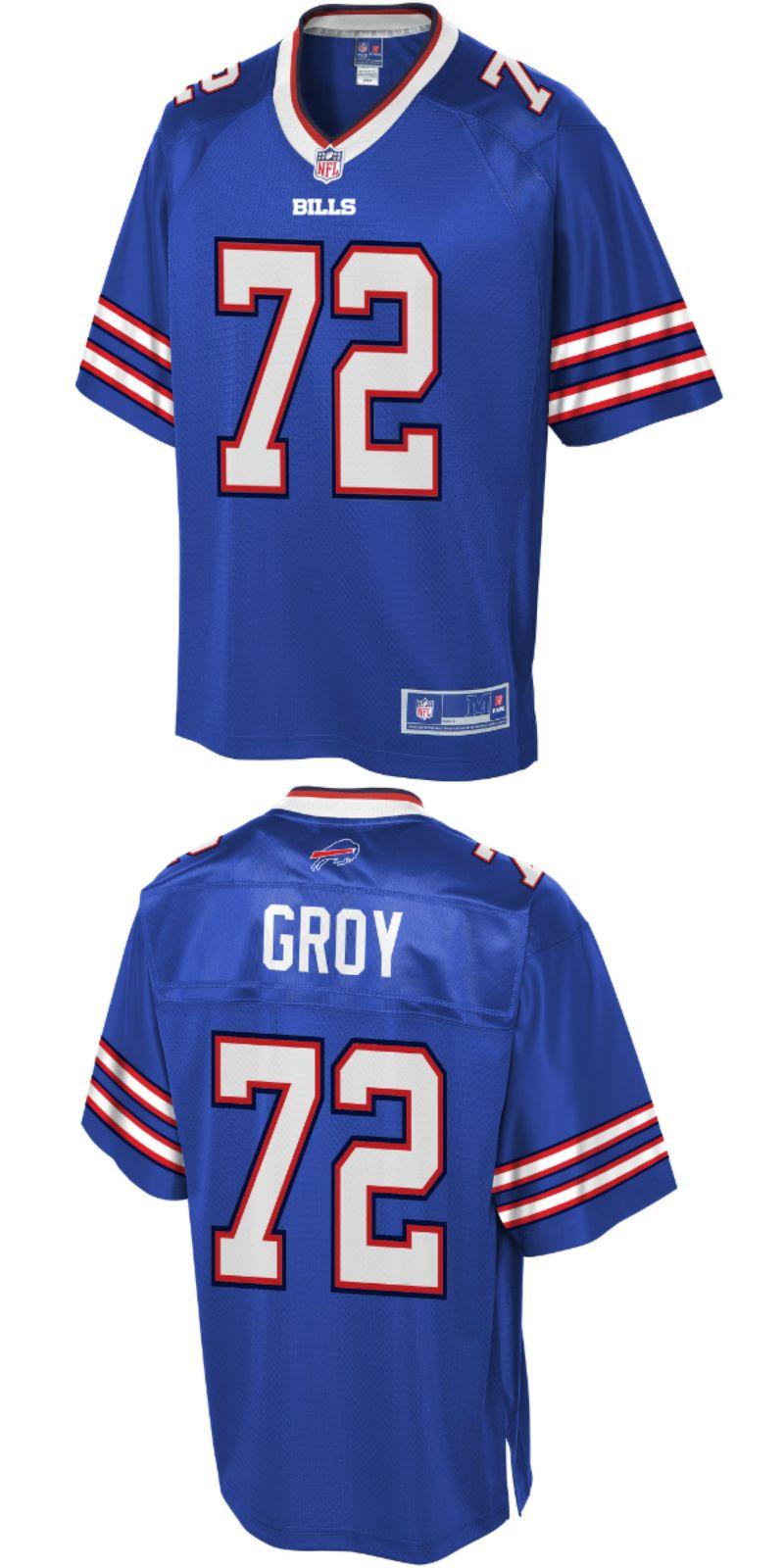 on sale 72825 c1695 Ryan Groy Buffalo Bills NFL Pro Line Player Jersey Royal. Up ...
