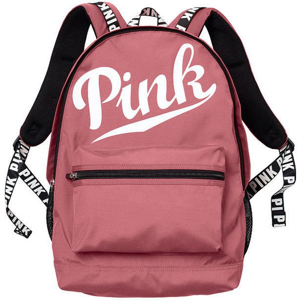 Style Liked On Polyvore Featuring Bags Backpacks Accessories Knapsack Bag Day Pack Backpack Victoria Secret Red And