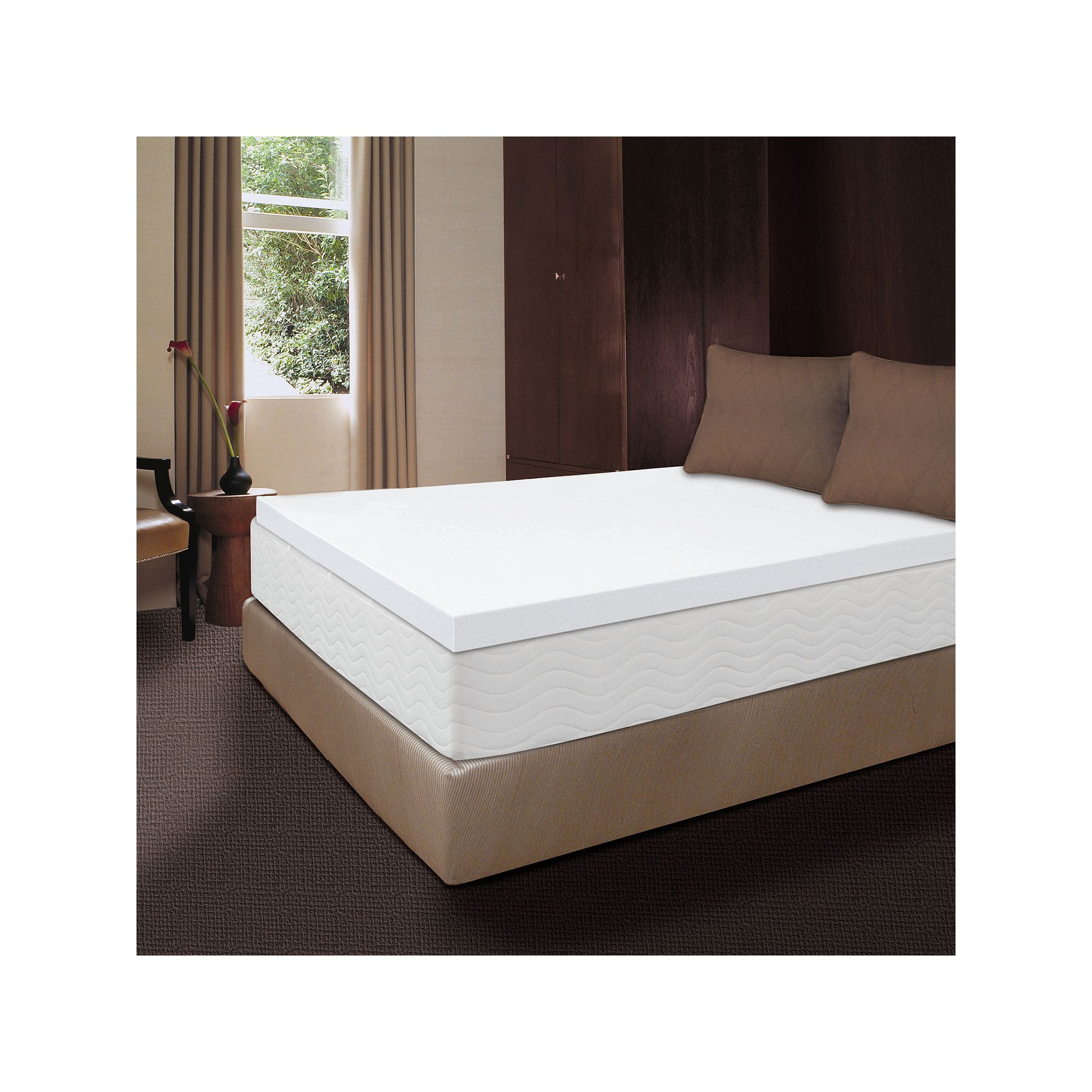 Dream Therapy 2 Inch Memory Foam Mattress Topper Memory Foam Mattress Topper Foam Mattress Queen Memory Foam Mattress