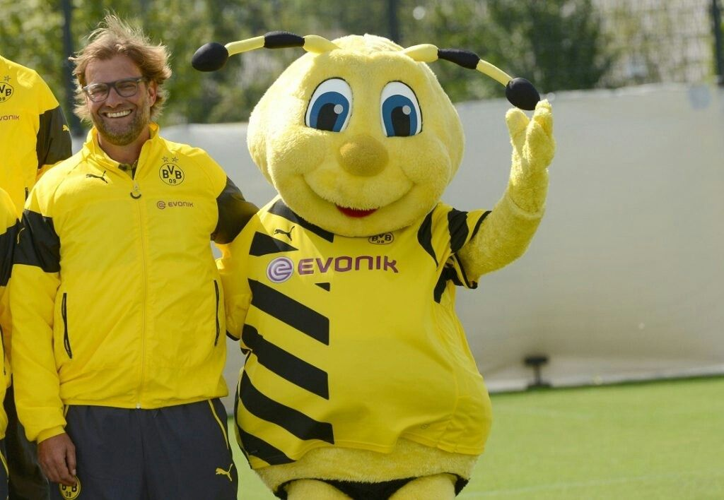 Borussia Dortmund Mascot Disney Characters Tigger