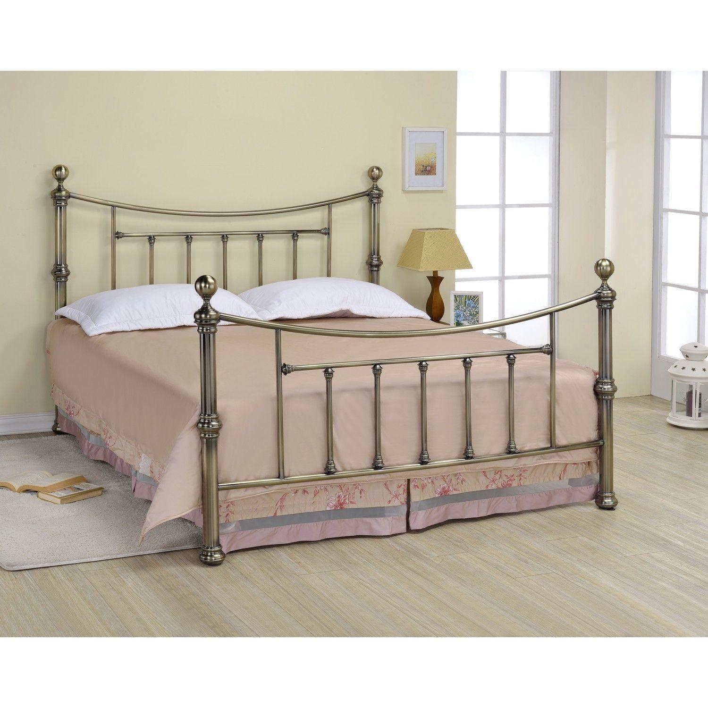 Isobella 46 Antique Brass Bed | Home | Pinterest | Brass bed ...